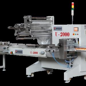 3 Servolu Yatay Paketleme Makinası Flowpack U2000