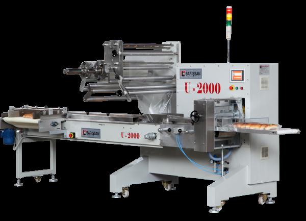 Yatay Paketleme Makinası Flowpack U2000